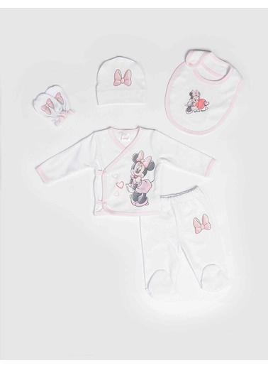 Minnie Mouse Hastane Çıkışı Beyaz